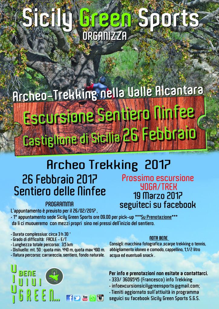 Arkeo-trek S.ninfee - valle alcantara