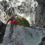 Body climbing River Rafting